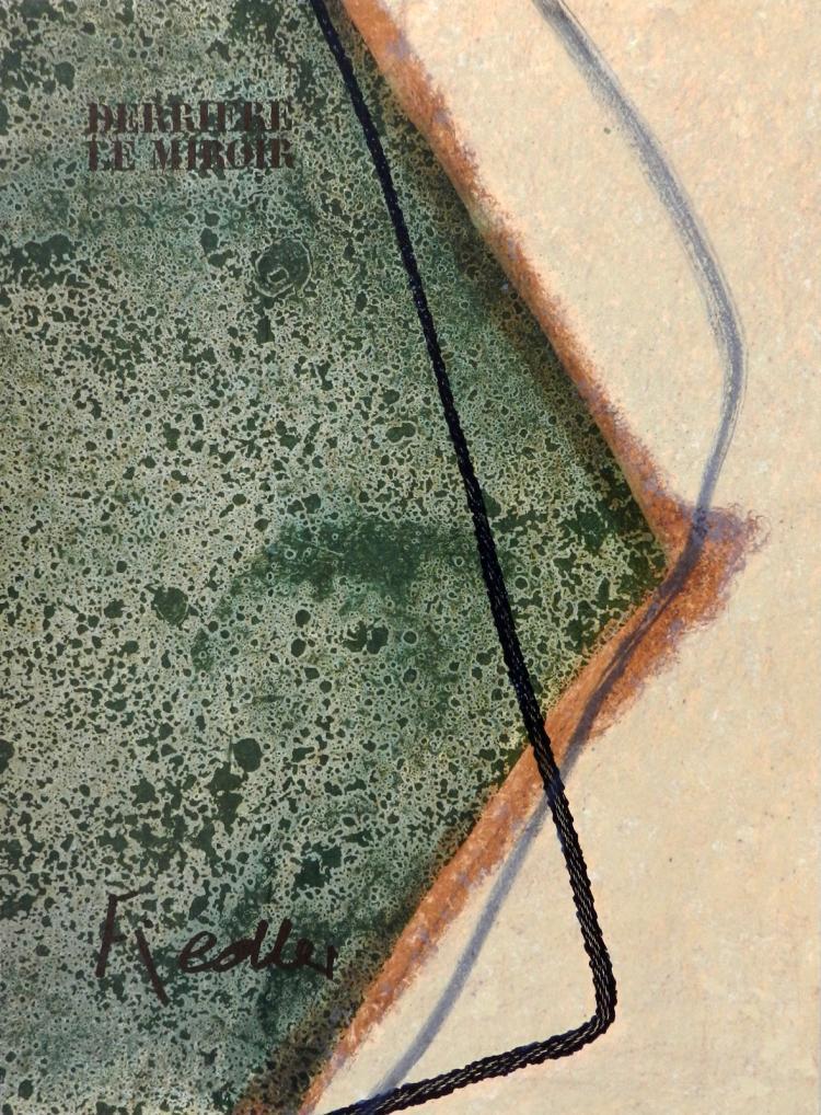Derriere le Miroir 211.Original lithographs in color by Fiedler