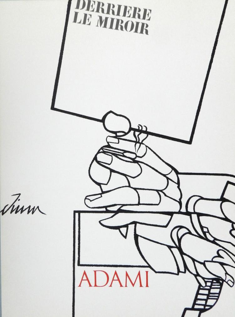 Derriere le Miroir 214. Original lithographs in color by Adami
