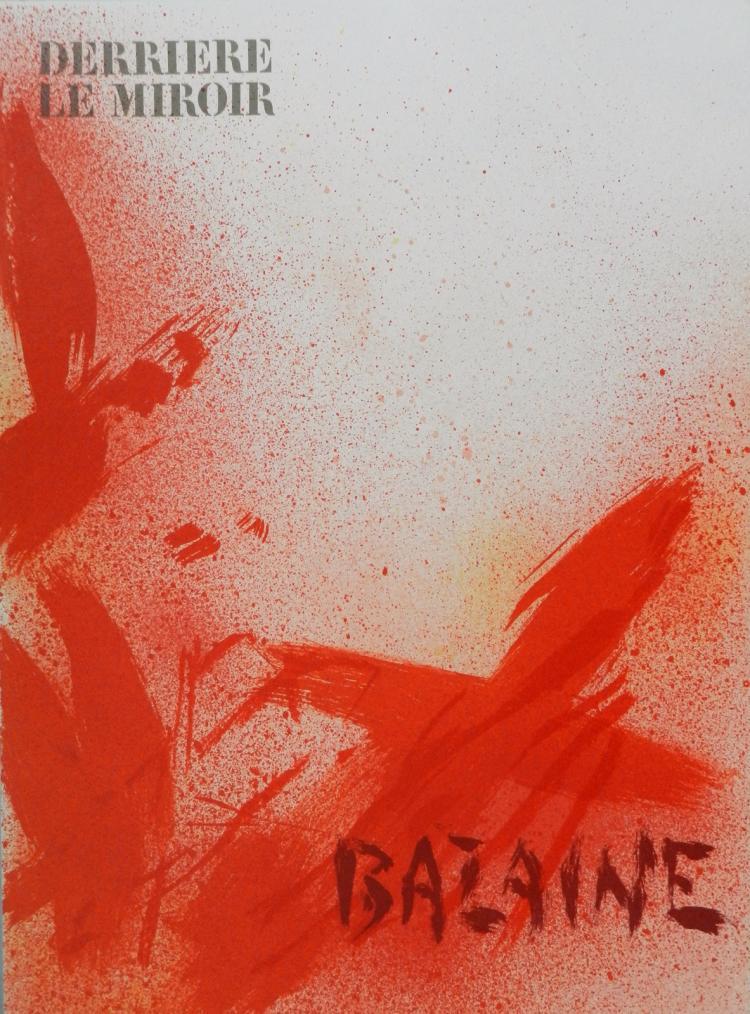 Derriere le Miroir 215. Original lithographs in color by Bazaine