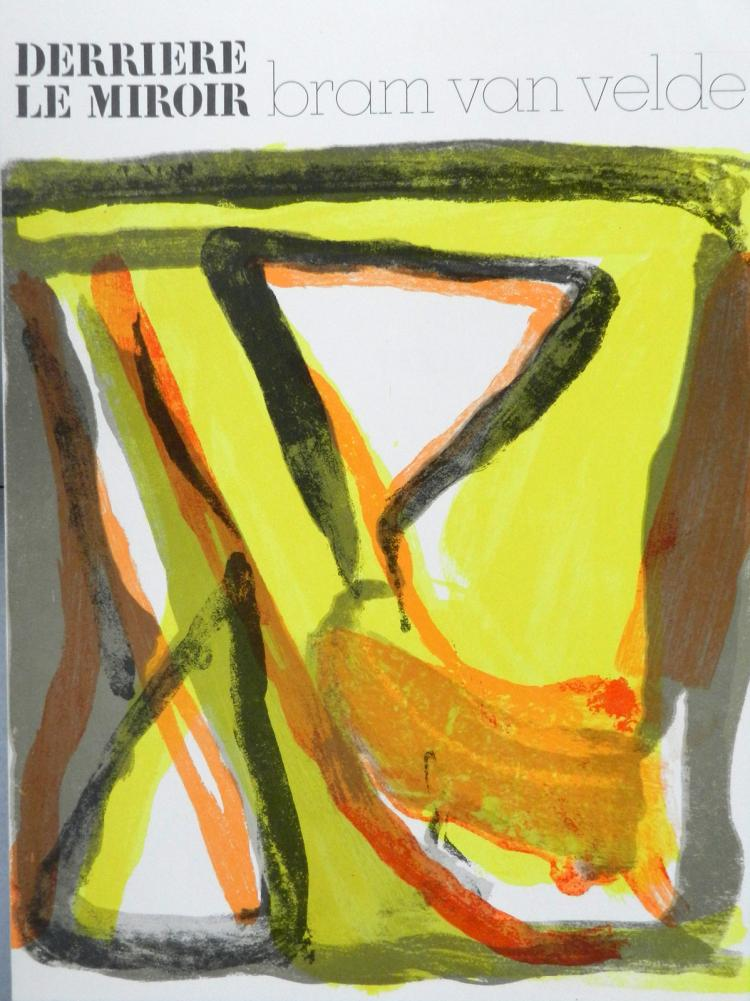 Derriere le Miroir 216. Original lithographs in color by Bram van Velde