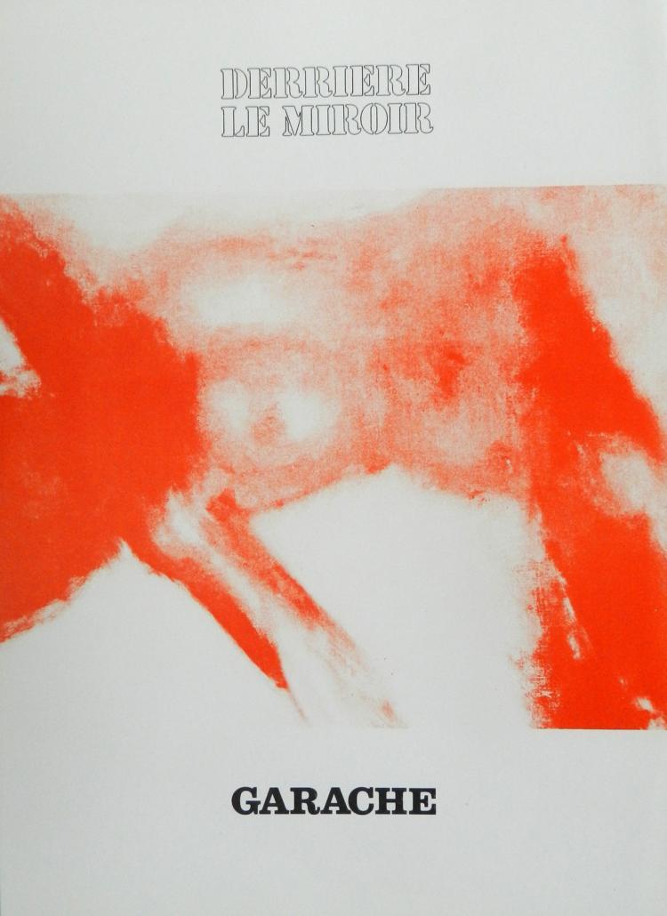Derriere le Miroir 222. Original lithographs in color by Garache