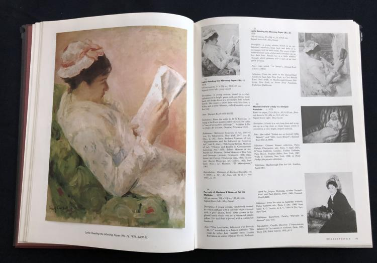 Mary Cassat: A Catalogue Raisonne' of the Oils, Pastels, Watercolors, and Drawings.