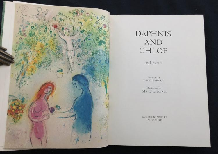 Daphnis and Chloe – Book illustrated by Marc Chagall 1977
