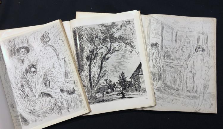 Dunoyer de Segonzac. Catalogue de l'oeuvre gravé.