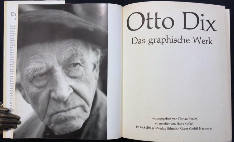 Otto Dix. Das graphische Werk.