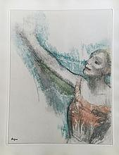 Degas Dance Dessins. With a suite of 26 etchings by  Degas.