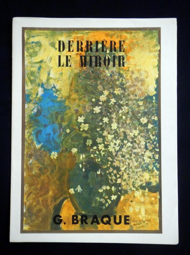Derriere le miroir 48 49 1952 with lithographs by braque for Derriere le miroir giacometti