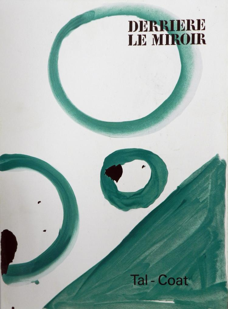 Derriere le miroir 153 1965 with original lithographs by t for Miroir original