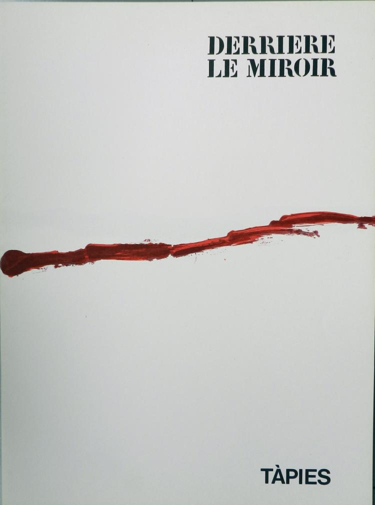 Derriere le miroir 180 1969 with a lithograph developing o for Derriere le miroir