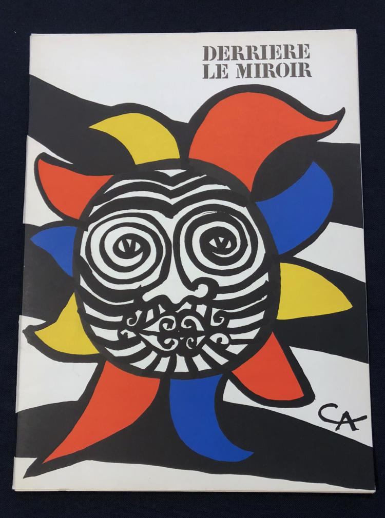 Derriere le miroir 156 1966 with original lithographs by c for Miroir original