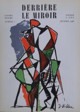 Derriere le Miroir 7, 1948, with original Lithographs by Villeri.