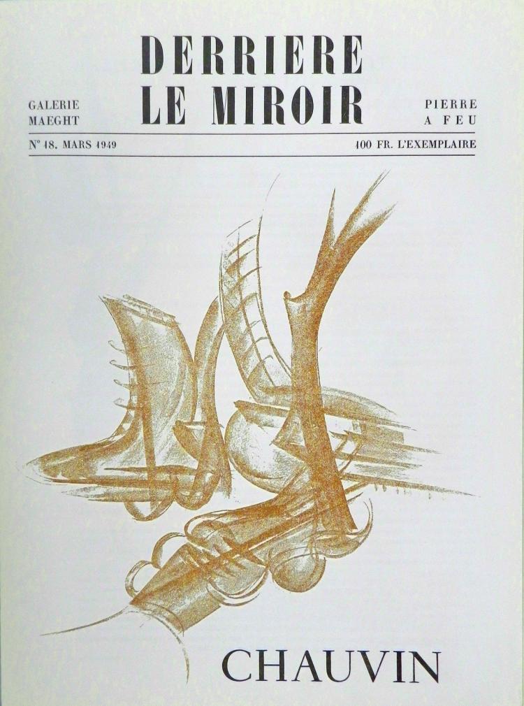 Derriere le Miroir 18, 1949, Chauvin.