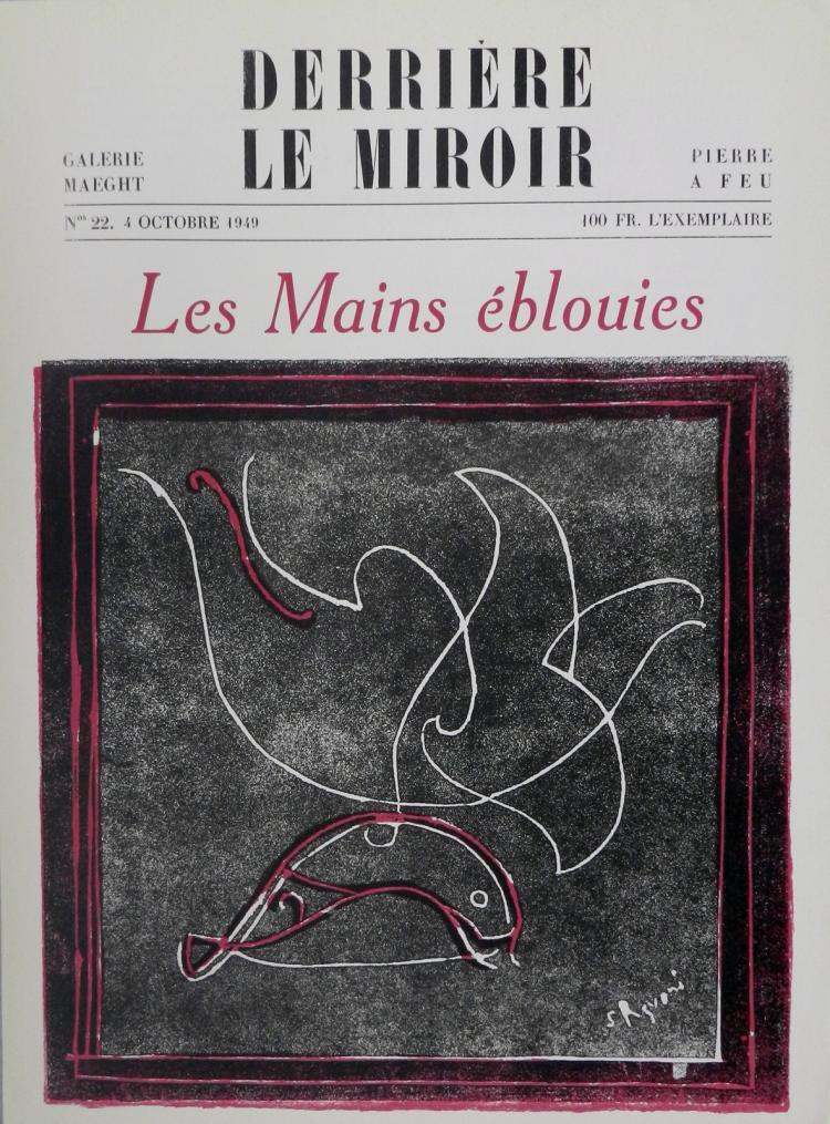 Derriere le Miroir 22, 1949, with woodcuts by Razvani.