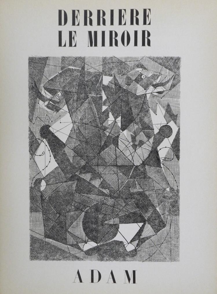 Derriere le Miroir 24, 1949. Adam.