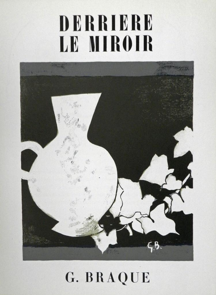Derriere le Miroir 25-26, 1950, with lithograph by Braque.