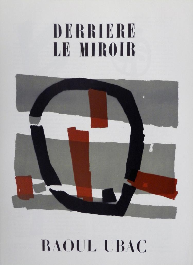 Derriere le Miroir 34, 1950, with original lithographs by Ubac
