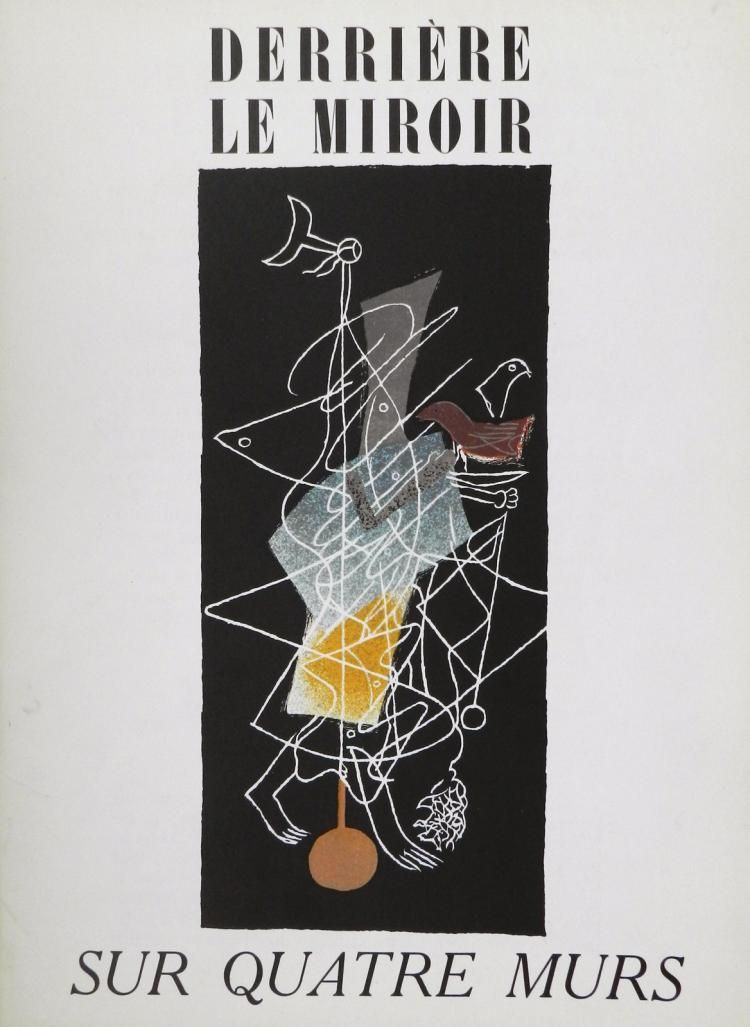 Derriere le Miroir 36-37-38, 1951, with lithos by Braque, Matisse, Miro`, Chagall, Leger and others.