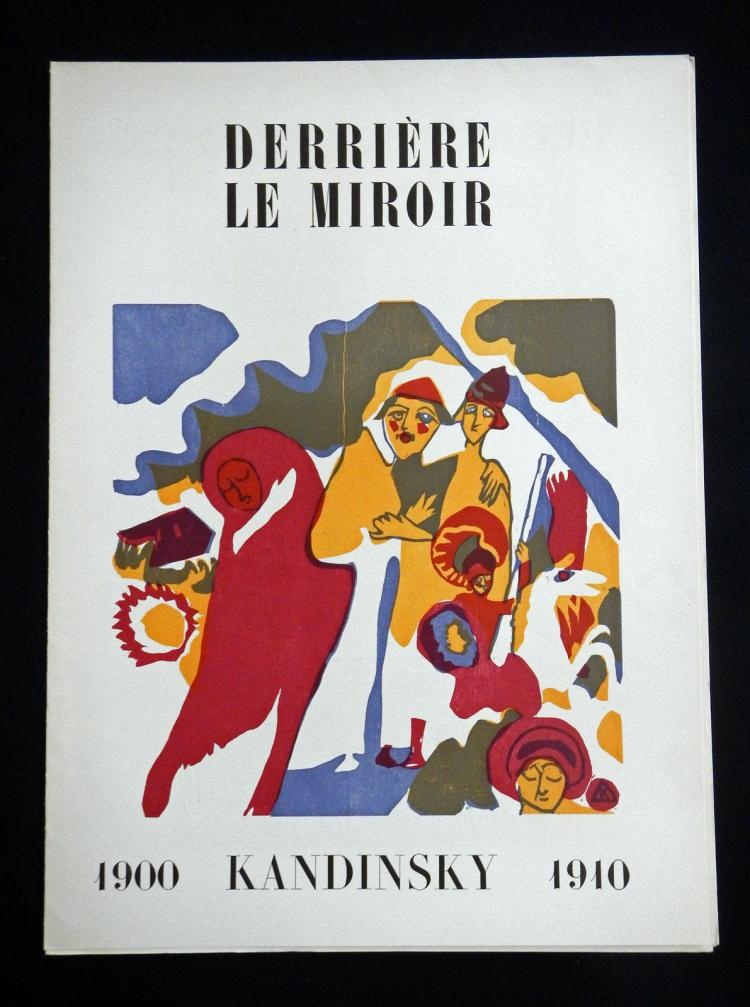 Derriere le Miroir 42, 1951, with 3 woodcuts by Kandinsky.