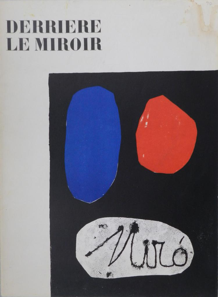 Derriere le Miroir 57-58-59, 1953, with original lithographs by Miro`