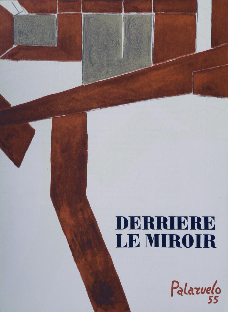 Derriere le miroir 73 1955 with original lithographs by pa for Derriere le miroir