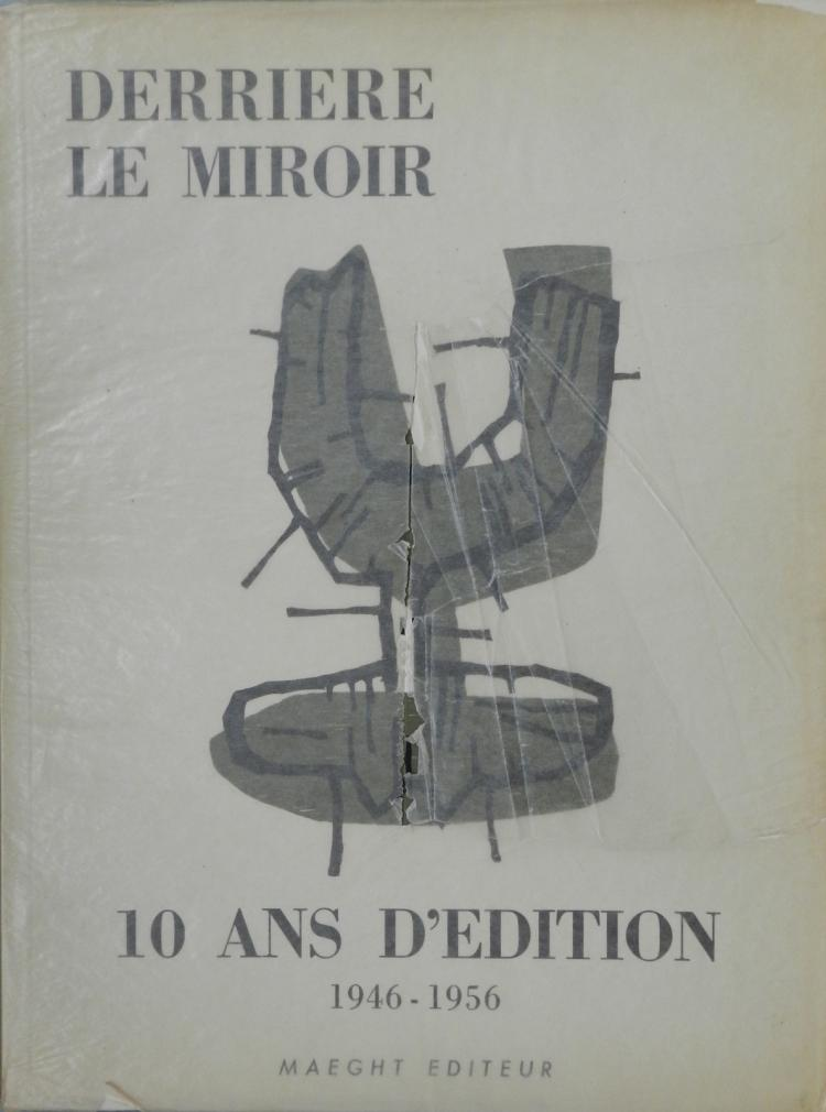 Derriere le miroir 92 93 1956 with original prints by miro for Miroir original