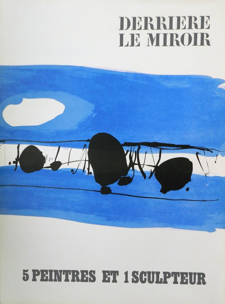 Derriere le miroir 150 1965 with original lithographs by c for Miroir 150x80