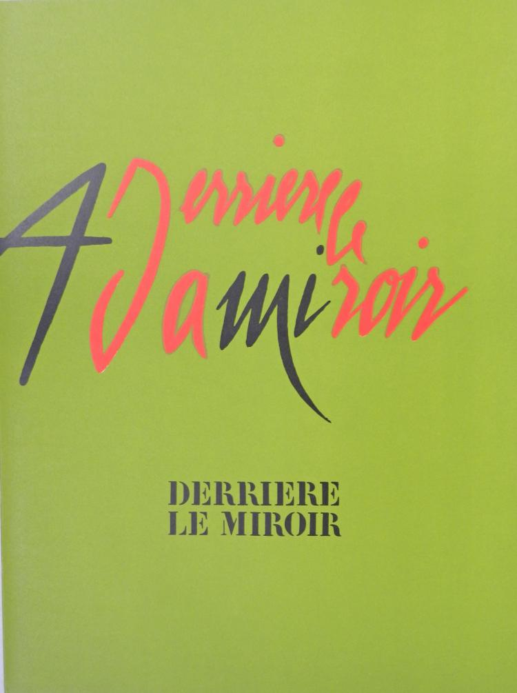 Derriere le miroir 206 1973 with original lithographs by a for Miroir original