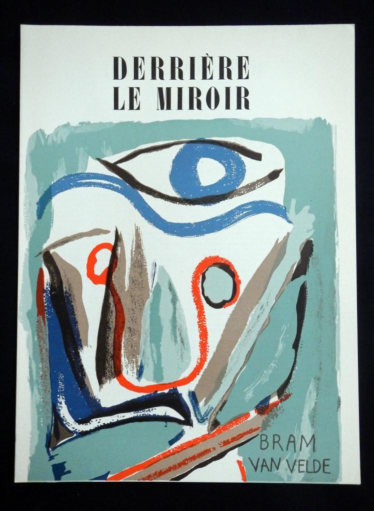 Derriere le Miroir 43, 1952, with original lithographs by Bram van Velde.