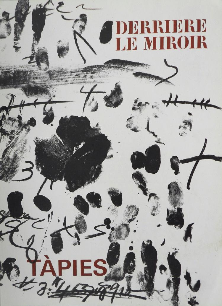Derriere le miroir 175 1968 with original lithographs by t for Miroir original