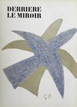 Braque George. Derriere le Miroir 85-86. 1956, with lithographs by Braque.