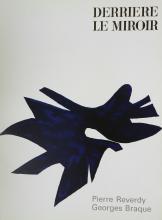 Braque George. Derriere le Miroir 135-136. 1962, with original lithograph by Braque.