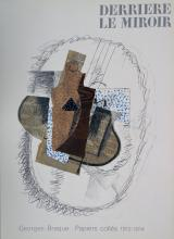 Braque George. Derriere le Miroir 138. 1963, with lithographs by Braque.