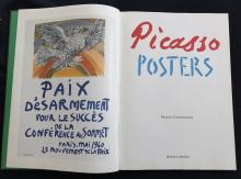 Picasso Posters by Maria Costantino. 1991, catalogue of Picasso posters