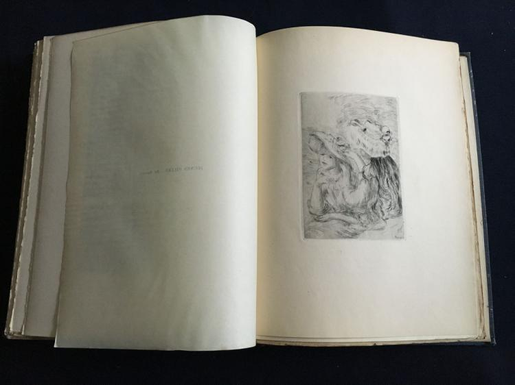 Manet and the French impressionists. 1910, with etchings by Manet, Morisot, Renoir.