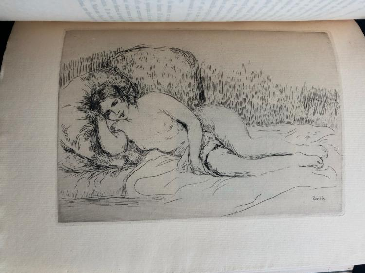 Les Peintres Impressionnistes, 1906, with etchings by Pissarro, Renoir, Cezanne Guillaumin