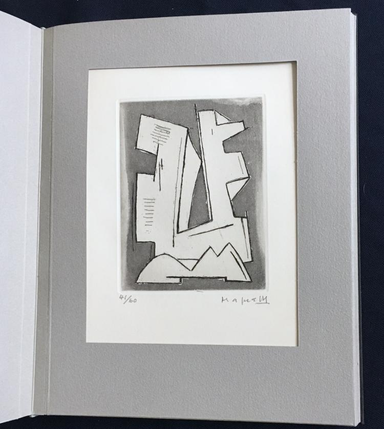 Futuristes, Abstraits, Dadaistes. Signed prints by Fautrier, Magnelli, Severini and others.