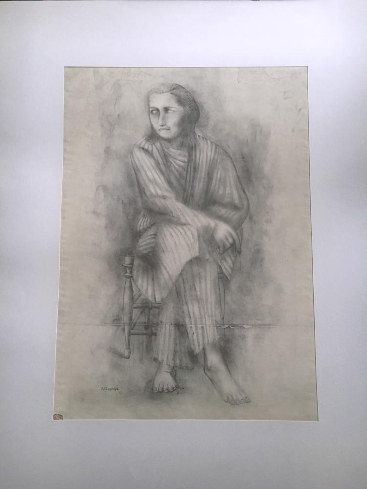 Manzu` (Giacomo), 1961, portfolio with 41 prints.