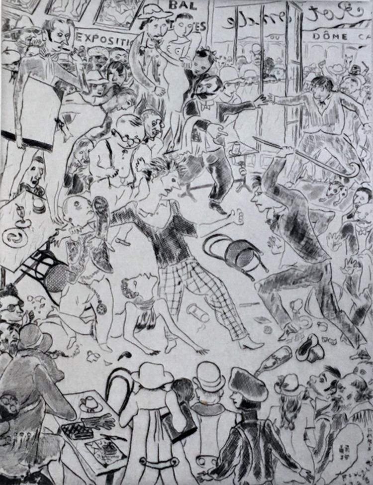 Tableaux de Paris, 1927, with original prints by Bonnard, Foujita, Laurencin, Matisse, Rouault, Utrillo, Van Dongen, Vlaminck, and others.