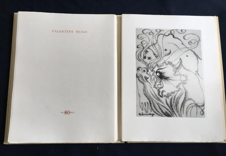 Alternance, 1946. Portfolio with etchings by Matisse, Laurencin, Cocteau and others.
