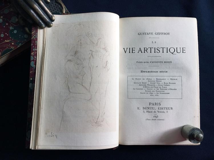 La vie artistique, 1892/95. Geffroy, Gustave. 1ière - 8me série. 8 volumes.