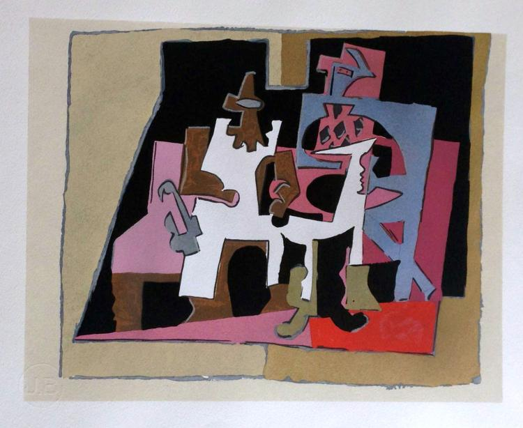 Dix Reproductions, 1933. Portfolio with original pochoirs by Braque, Matisse, Picasso and others.