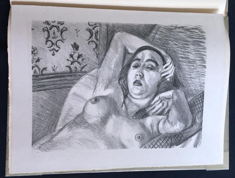Album de Lithographies Originales, 1925, with lithos by Matisse, Lautrec, Vlaminck, and others.