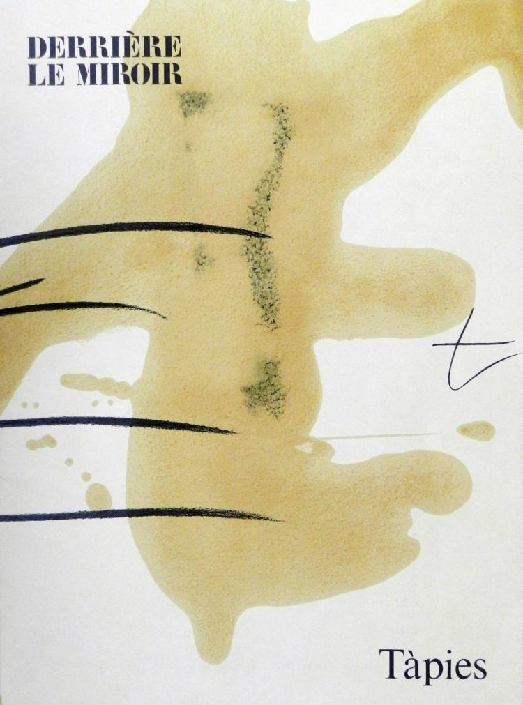 Derriere le miroir 253 one original lithograph by tapies for Miroir original