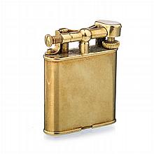 DUNHILL - Gilded silver lighter