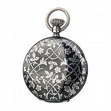 JACK WATCH FACTORY - Art Nouveau pocket watch in silver