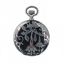 Wilka - Art Nouveau pocket watch in silver