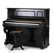 ANTOINE BORD, PARIS — Piano with a stool