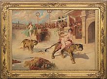 FRIEDRICH SCHLEGEL (1865-1935) - [Roman Arena]