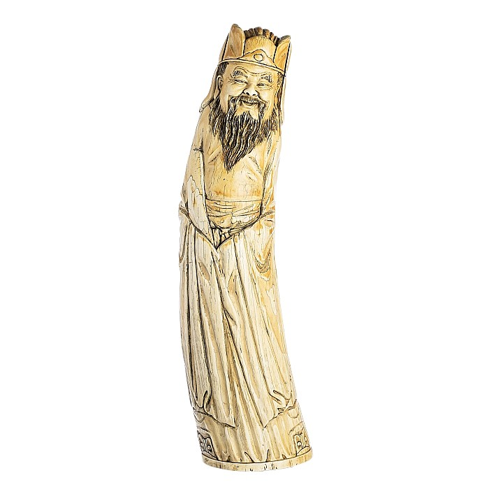 Large Chinese ivory immortal
