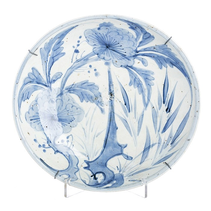 Bowl with 'flowers' in Chinese porcelain, Ming